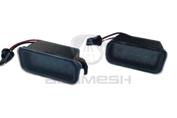 Jaguar Number Plate LED Focus Lights